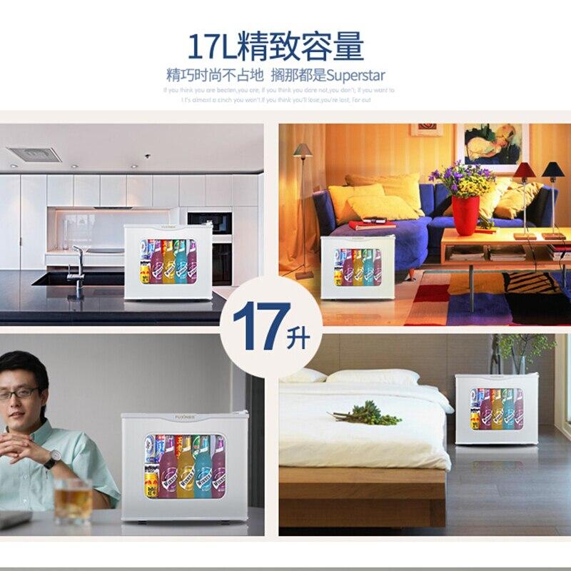 Fuxin Kühlschrank Kleine Hause Einzigen tür Mini Schlafsaal Heizung Büro Hotel Kühlschränke Tragbaren Kühlschrank Camping Kühlschränke - 4