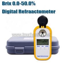 Brix 0-50% сахарный Цифровой рефрактометр для режущего флюидального агента TDR101