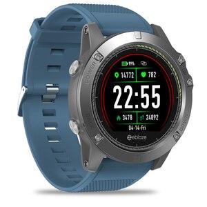 Image 2 - Bluetooth inteligentny zegarek mężczyźni wodoodporny zegarek sportowy kolorowy ekran smartwatch z kontrolą tętna cyfrowy zegarek dla IOS Android