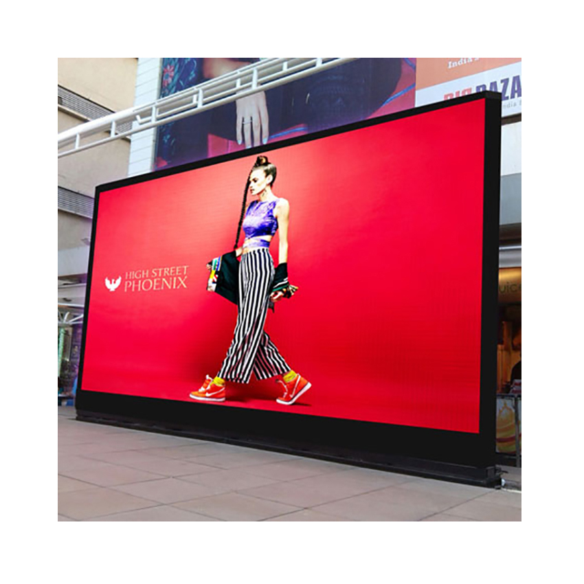 P8 <font><b>Outdoor</b></font> <font><b>LED</b></font> Display Big Screen 512X512mm Die Casting Aluminum Cabinet HD High Brightness Waterproof Advertising <font><b>Billboard</b></font> image