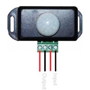 Image 2 - Interruptor automático de Sensor de movimiento PIR infrarrojo de 120 grados, 12V 24V, 8A, para luz LED, 5 ~ 8 M, Sensor Detector de movimientos por infrarrojos