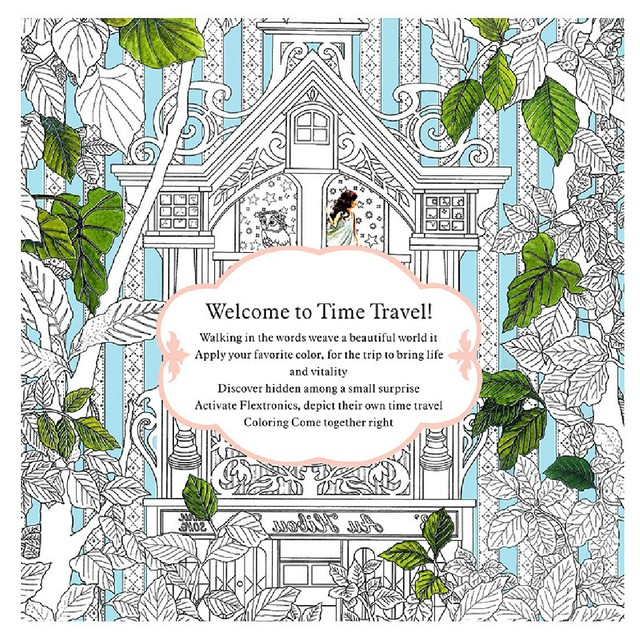 Secret Garden An Inky Treasure Hunt Color Book For Kids Adults Pressure Relief Hot Sale And