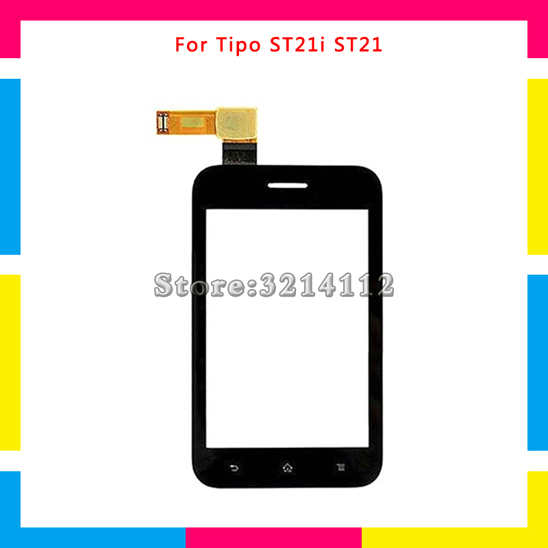f2689850e9f Digitalizador de pantalla táctil Sensor de Lentes de vidrio exterior Panel para  Sony Ericsson Xperia Tipo ST21 ST21i