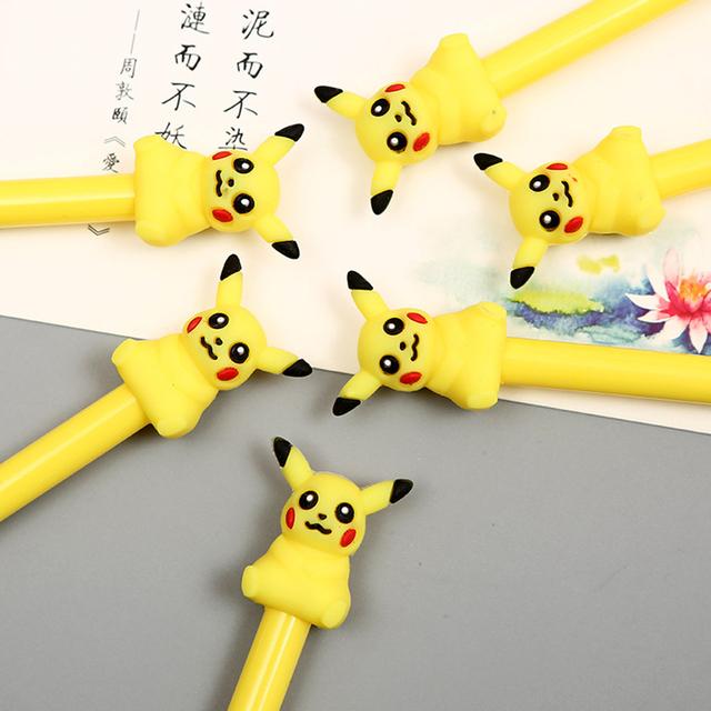 1pc Cute Yellow Gel Pen Kawaii Stationery
