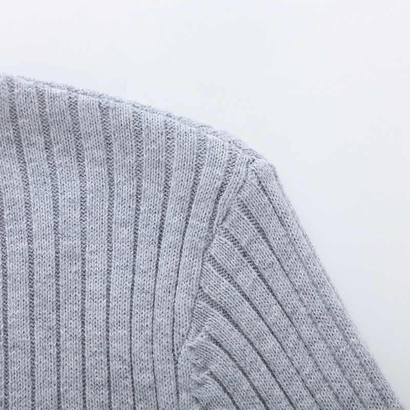 SEMIR Осень-зима свитер женский 2019 длинный рукав пуловер женский базовый свитер женский 2018 закрытый стиль Вязаный топ Femme