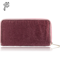 GAINA 2015 Famous Brand Vintage Womens Leather Money Clip Wallets More Color Quality Ladies Card Holder