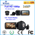 24MP full hd 1080p digital video camera HDV-Z80 10X optical zoom remote control professional video camcorder