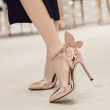 9de08b903bf Buy gold metallic heels and get free shipping on AliExpress.com
