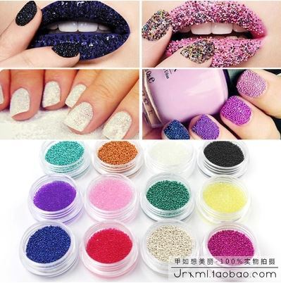 High quality professional nail glitter silver color little size Pearl Nail decoration nail tools nail art M525