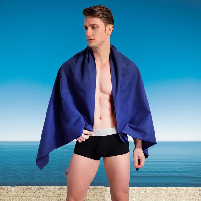 asciugamano Zipsoft Beach tessuto di Microfiber di viaggio rapida asciugatura all'aria aperta Sport Nuoto Camping Bagni Yoga Mat Blanket palestra adulti 2019