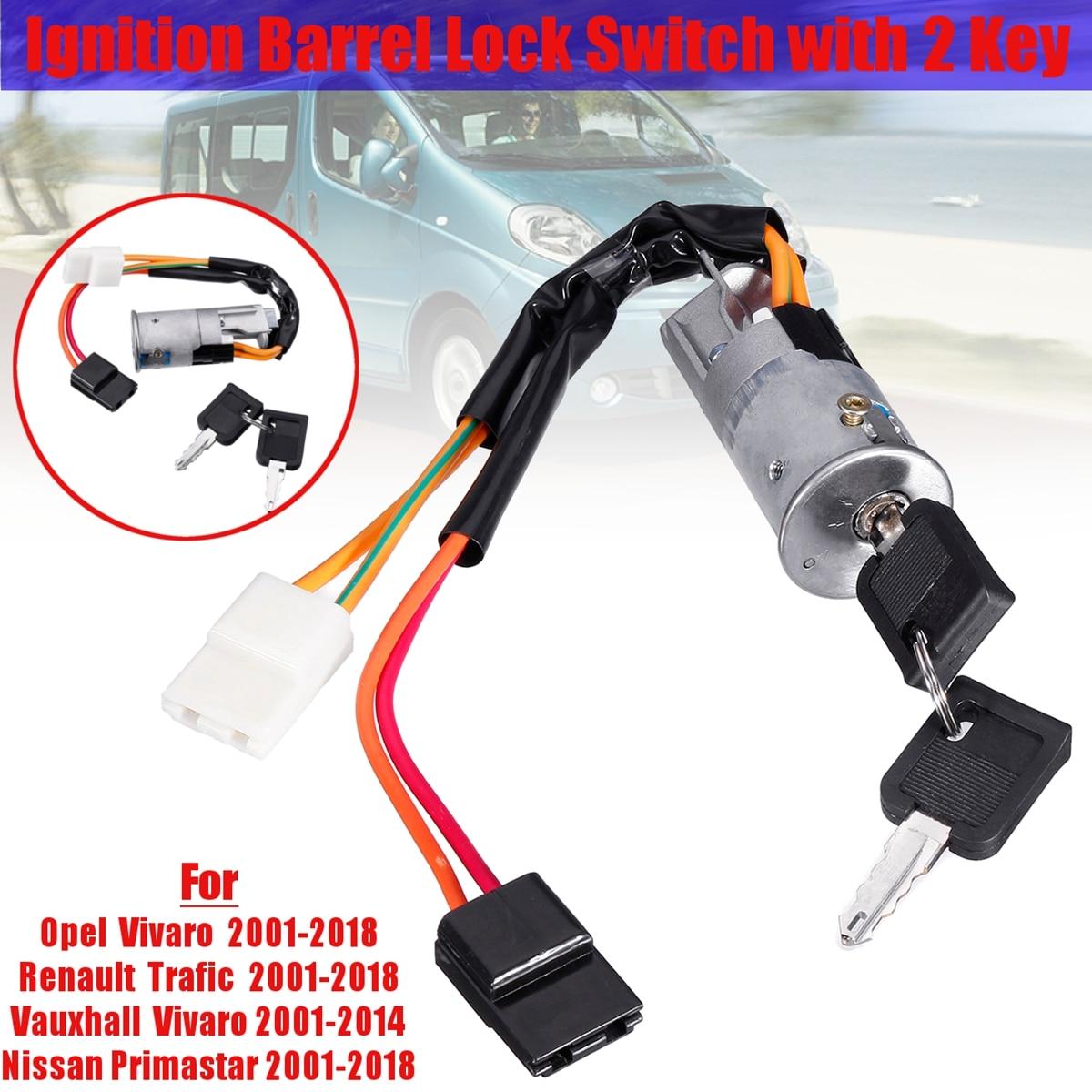 Ignition Steering Switch Lock ** Opel Movano Vivaro   Interstar Primastar