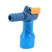 1 Unids Acampar Al Aire Libre Bolsas de Agua de Silicona 90 Grados Recta Paquete de Hidratación Esencial Boquilla de la Válvula de Mordida de Succión Negro/Azul Color