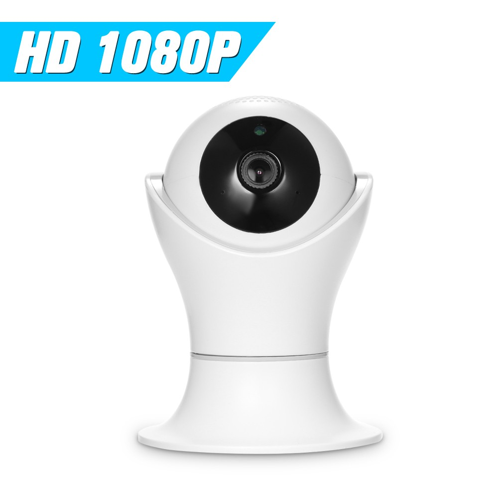1080P HD IP Camera WiFi Home Security Camera Pan/Tilt CCTV Camera IR Two-way Audio Video Baby Monitor Support SD Card Storage1080P HD IP Camera WiFi Home Security Camera Pan/Tilt CCTV Camera IR Two-way Audio Video Baby Monitor Support SD Card Storage