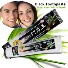 New High Tech Formula for Sensitive font b Teeth b font Bamboo Charcoal Black Toothpaste Herbal