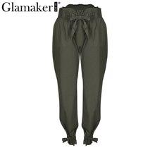 Loose high waisted women pants
