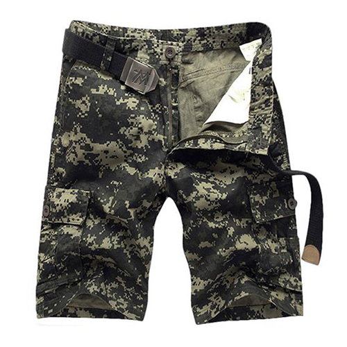 HOT 2019 Summer men short men 39 s Multi pockets camouflage thin Overalls Casual short Army military desert Cargo Shorts bermuda in Casual Shorts from Men 39 s Clothing