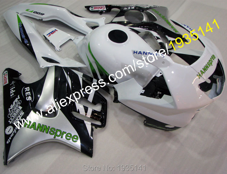 Hot Sales,For Honda CBR600 F3 1997-1998 Body Work CBR 600 F3 97-98 CBR600F3 Hannspree Motorcycle Fairing (Injection molding)