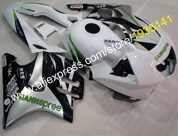 Hot Sales,For Honda CBR600 F3 1997-1998 Body Work CBR 600 F3 97-98 CBR600F3 Hannspree Motorcycle Fairing (Injection molding)