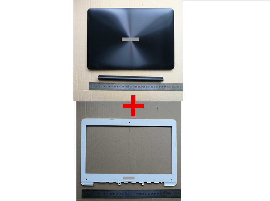 New laptop Top case base lcd back cover +lcd front bezel frame for <font><b>ASUS</b></font> <font><b>X302</b></font> X302L X302LA X302LJ 13N0-RSA0401 13NB07I1AP0101 image