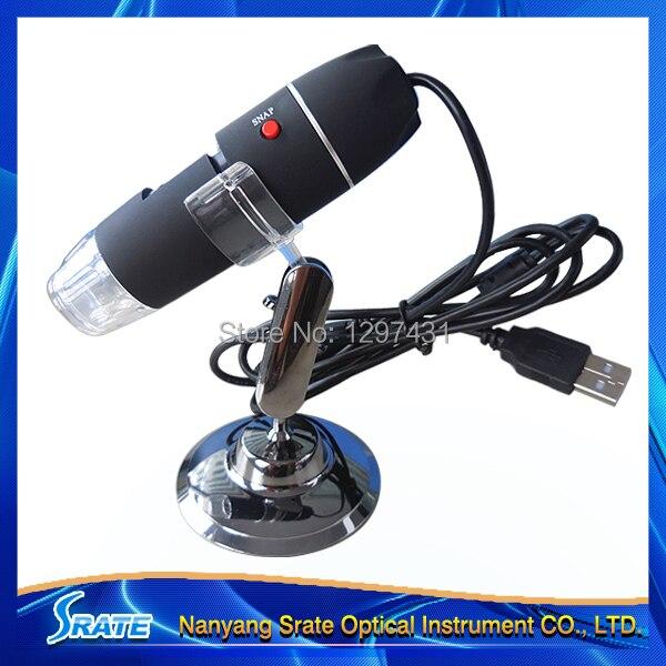 Portable 2MP 8 LED Light USB Digital  Microscope 50-500X Endoscope Camera Magnifier