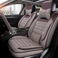 car seat cover auto Interior seats covers for mitsubishi outlander 3 xl pajero 2 3 4 sport nissan almera n16 g15 classic
