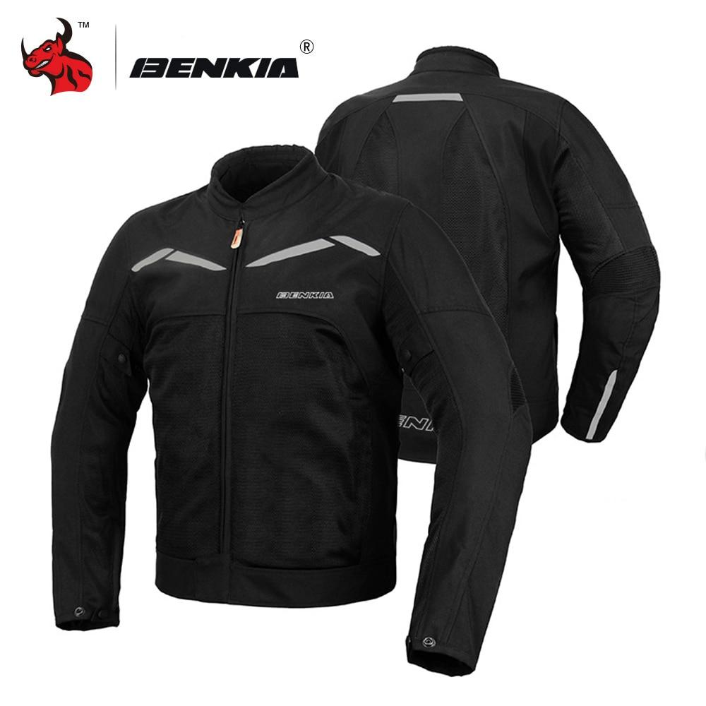 BENKIA Motorcycle Jacket Motocross Jacket Moto Windproof Cold proof Men Motorcycle Jacket Armor Moto Jacket Protective
