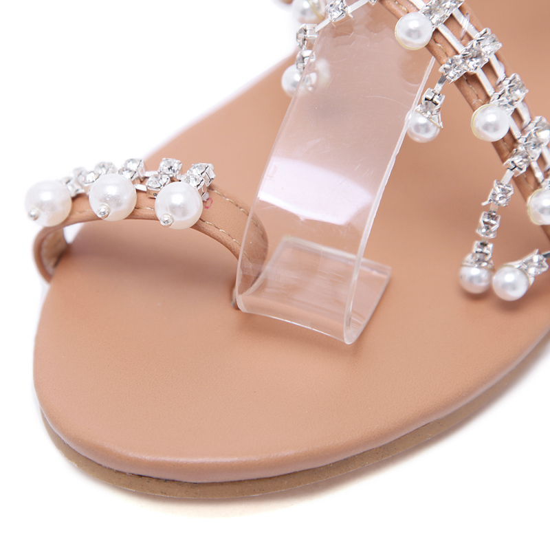 b94f99550c82c ... Pearl Handmade Beaded Flat Women s Shoes Large Size 34-43. size 1 2 3 4  5 ...