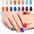 New Fashion Mini Nail Art Zircon Strass Cerca de 1440 pcs 1.2mm Muitas Cores Cola Em Micro Diamantes De Vidro DIY Decorações de artesanato