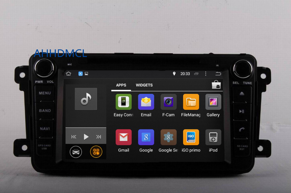Flash Deal AHHDMCL Car Multimedia Player Stereo Radio DVD Android 9.0 Navigation For Mazda CX-9 2007 2008 2009 2010 2011 2012 2013 ~Up 2