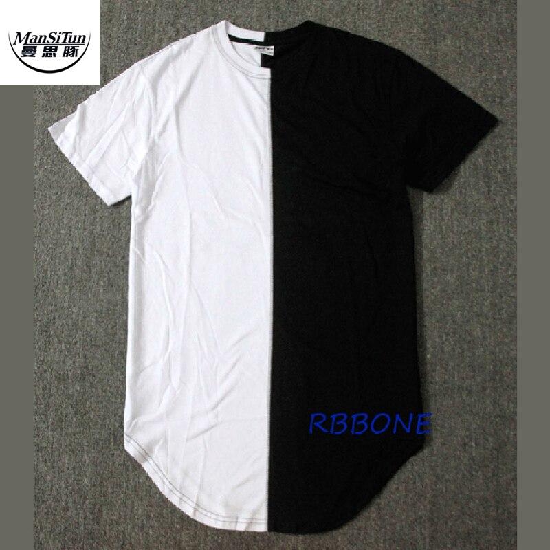 Buy Man Si Tun Half Black White New