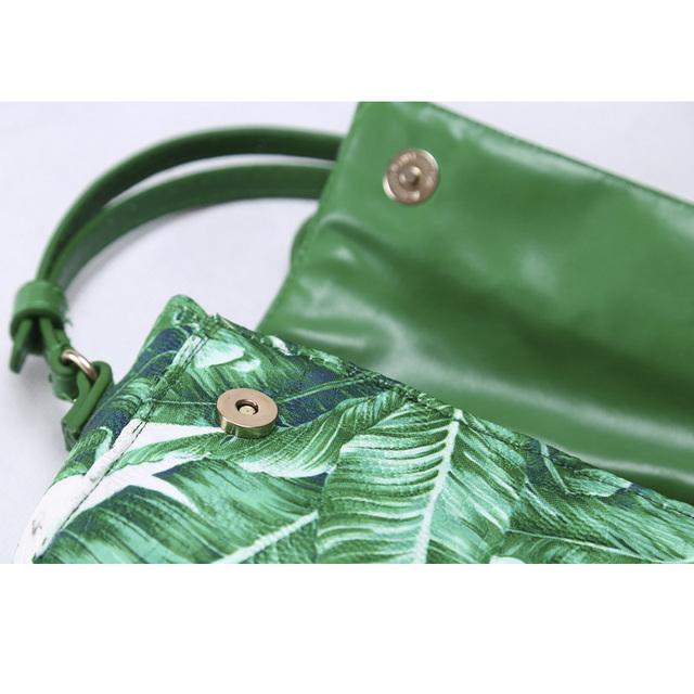Girls' Leaves Printed Bag