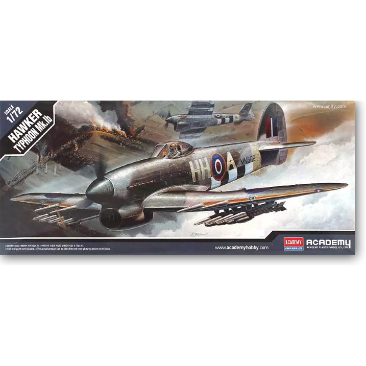 Toys & Hobbies Trumpet 1:72 36311 World War Ii Typhoon Mk.1b Fighter Model