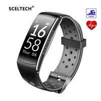 SCELTECH Q8 Smart Band IP68 Waterproof Wristband Heart Rate Fitness Tracker Step Calorie Smart Bracelet Wearable