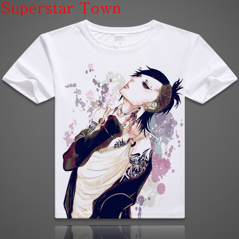 Japan design girl anime t shirt 2016 brand cartoon casual Girl t shirts design