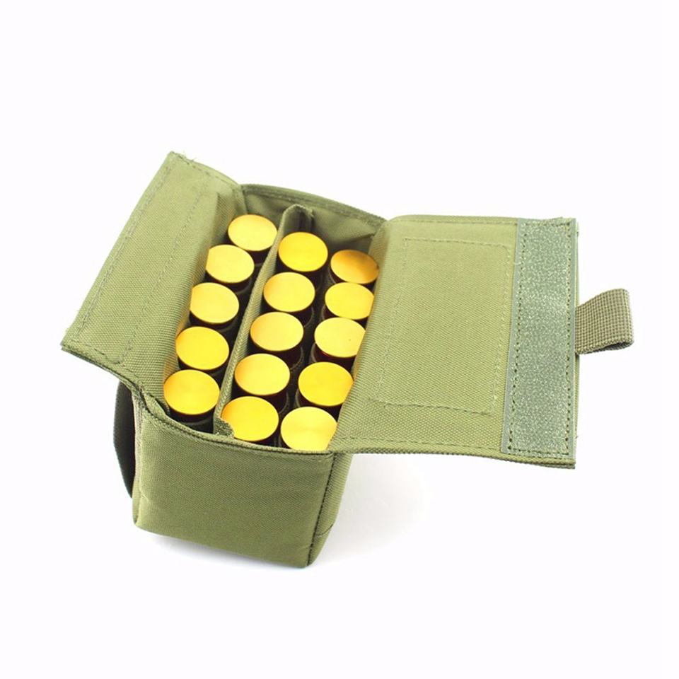 Tactical Molle Tactical Magazine Reload Shotshell Holder 15 rounds - Jacht - Foto 6