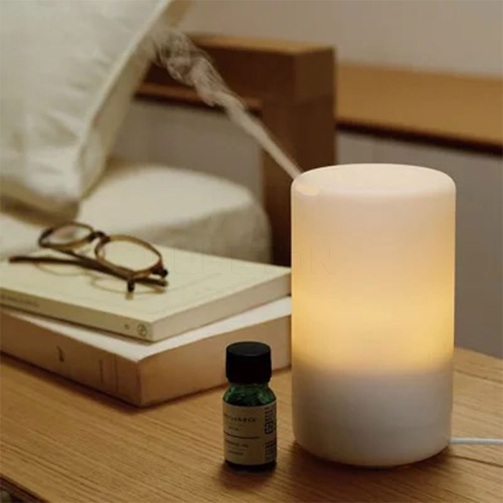 Aroma night lamps - Led Night Light Usb Essential Oil Diffuser Air Humidifier Aroma