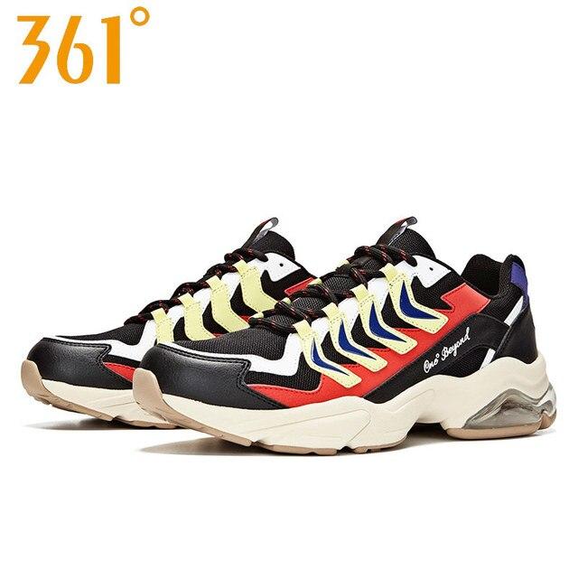 361 градусов мужские кроссовки 2019 Лето Новое поступление подушки ретро сетки модные спортивные ботинки мужские 671936778