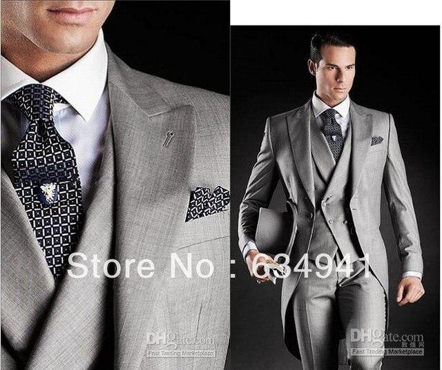 Man Latest Coat Pant Designs Custom Groomsmen Dress Western Wedding Italy Long Style Groom Tuxedos Men
