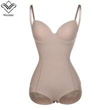 7e4c600a795e1 Wechery Silk Shaper Sexy Lingerie Women s Solid Open Crotch Bosysuit Black  Nude Body Shaper Plus Size