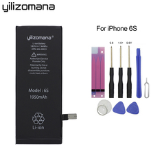 Get more info on the YILIZOMANA Original Replacement Phone Battery For Apple iPhone 6S 6s High Capacity 1950mAh Genuine Li-ion Batteries  Free Tools