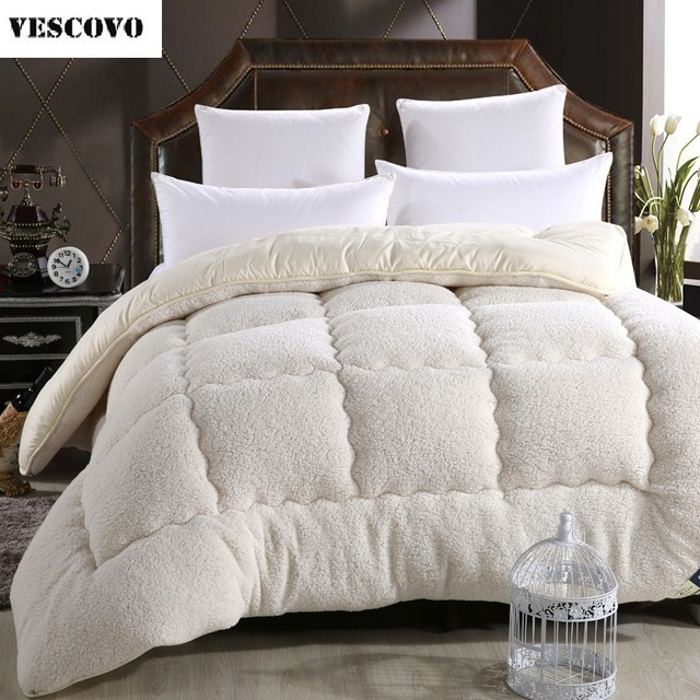 Camelhair Super Warm Winter Wool Quilt Comforter Duvet Blanket Lamb