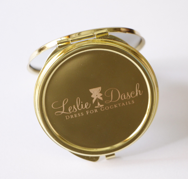 Personalised Gold Compact Mirror 62mm Round Lady Handbag Mirrors Engraved Favors 50pices Lot