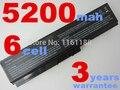 5200 mah 6 celdas de batería portátil para toshiba satellite a665d c640 c640d c645d c650 c655 c660 c655d c660d portátil batería