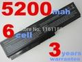 5200mAh 6 cells laptop battery for toshiba Satellite A665D C640 C640D C645D C650 C655 C655D C660 C660D NOTEBOOK BATTERY