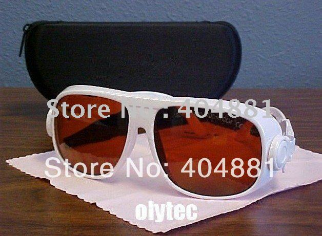 laser protection eyewear (190-540nm&900-1700nm. O.D  4+ CE ) for blue and green lasers, 980nm an 1064nm, 1320nm lasers