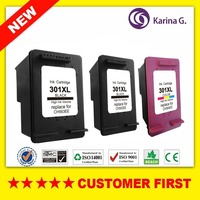 3X For HP 301 XL For Hp301 Ink Cartridges Compatible For HP 2510 3510 D1010 1510