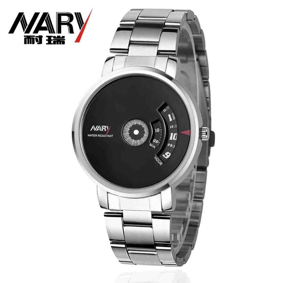 NARYSplendid New Luxury Fashion Men Quartz Watch Clothing Accessories Casual Cool Watch Brand Men wristwatch relogio