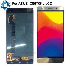 Для ASUS Zenfone 3 Deluxe Z016S Z016D ZS570KL ЖК-дисплей Дисплей Сенсорный экран планшета сборки 5,7 «для ASUS ZS570KL ЖК-дисплей Замена
