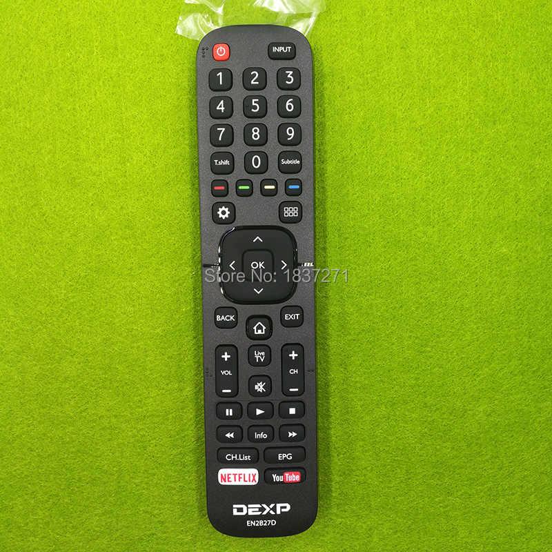 جديد الأصلي التحكم عن بعد EN2B27D RC3394417/03 ل DEXP F40/43/49/55C8000H H32C8000H F32/43/49D8100H U43D9100H تلفاز LCD
