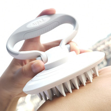 DELE Cat Grooming Brush, Pet Massage Brush For Dogs, Multi-Angle Adjustable Folding Grip for Shampooing & Deshedding